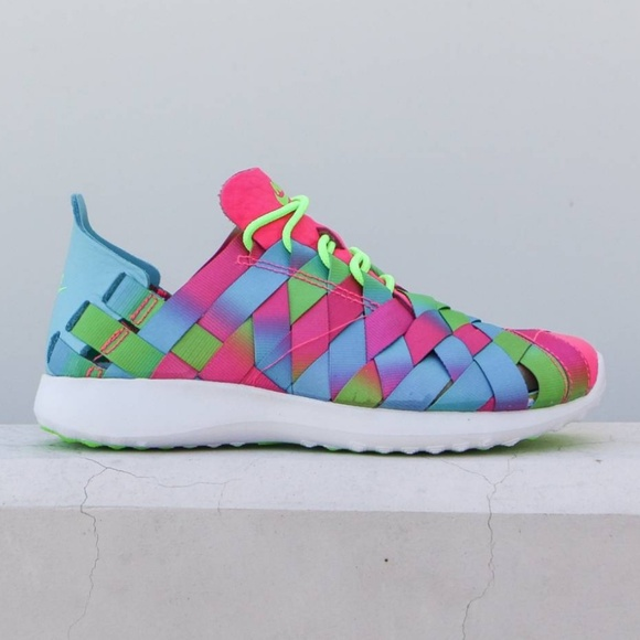 buy popular 4db0d 46f4f Nike Juvenate rainbow woven sneakers. M 5b9bc238de6f62adc42e7e88. Other  Shoes ...